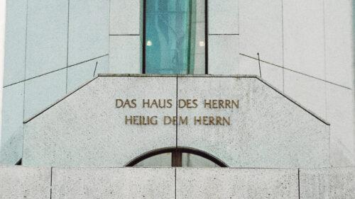 Der Tempel: Das Haus des Hernn, heilig dem Herrn